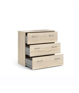 Cassettiera 3 cassetti Quercia