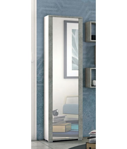 Scarpiera/ Colonna multiuso con Specchio