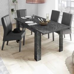 Tavolo allungabile Marmo nero